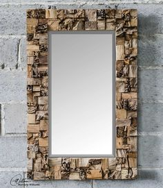 Uttermost Thatcher Teak Root Mirror
