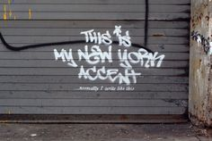 Banksy is in New York. Love the originality !