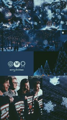 one direction christmas lockscreen  | ctto: @stylinsonphones