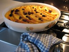 Annie's Bread and Butter Pudding