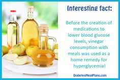 Does Vinegar Lower Blood Sugar?