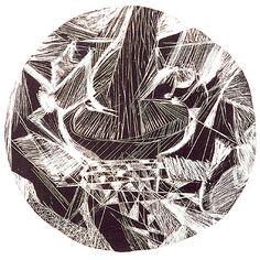 O Acrobata 2000 | Maria Bonomi litografia em papel artesanal 30.00 x 30.00 cm