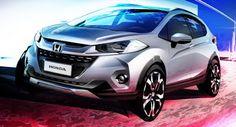 Honda zeigt eine Vorschau neue WR-V-Sub-Kompakt-SUV für Südamerika Brazil Honda New Cars Reports Sao Paulo Show SUV