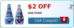 New Coupon!  $2.00 off one Crest - http://www.stacyssavings.com/new-coupon-2-00-off-one-crest-3/