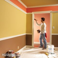 PAINTING TIPS I'VE NEVER HEARD BEFORE. professional painters share their secrets for producing a great-looking interior paint job. the work will go faster with less hassle too.