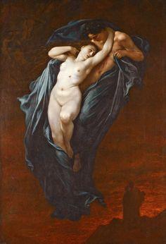 Paul Gustave Doré (1832-1883), Paolo And Francesca Da Rimini from The Divine Comedy by Dante