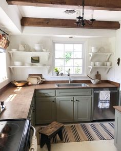 Kitchen Interior, Kitchen Design, Kitchen Decor, Home Kitchens, Kitchen Remodel, Sweet Home, New Homes, Megan Miller, House Design