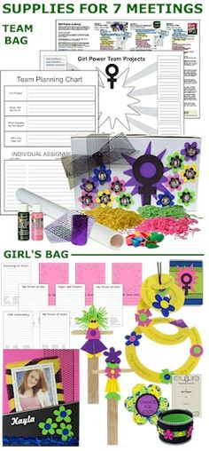 Girl Power Journey Badge in a Bag® Supplies for 7 meetings! Our Power Journey Badge in a Bag® is packed with hands-on activities to make your Girl Scout Journey a fun, positive experience for your girls AND a stress-free, memorable experience for you. -  For more see MakingFriends.com