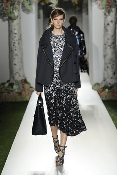Mulberry Spring Summer 2013 on the catwalk. #LFW #SS13