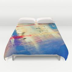 Swimming Pool 01B - Abstract Duvet Cover by Pete Edmunds - $99.00