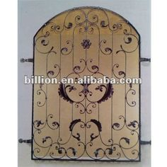2012 china manufacturer hand hammered windows wrought iron design
