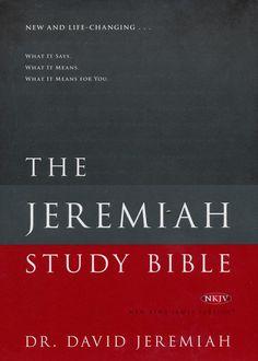 NKJV Jeremiah Study Bible, Hardcover