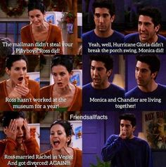 Ross has no comeback to that, therefore, as stated many times Monica is that bes. Friends Funny Moments, Friends Tv Quotes, Friends Scenes, Funny Friend Memes, Friends Cast, Friends Episodes, Friends Tv Show, Funny Memes, Hilarious Memes