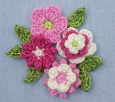 posy blossoms crochet pattern by planetjune: FREE crochet pattern