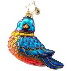 Radko Bird Christmas Ornament 2014