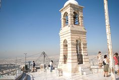 The bell tower of St. George - Greece