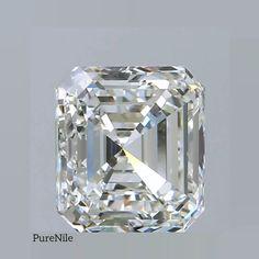 Real diamond grown in lab. Create a custom lab grown diamond engagement rings, wedding bands, bracelets and pendant at PureNile. Buy Gemstones, Minerals And Gemstones, Gem Diamonds, Colored Diamonds, Gems Jewelry, Diamond Jewelry, Diamond Guide, Lab Created Diamonds, Victorian Jewelry