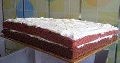 Gabungan Red Velvet dan Kek coklat buttermilk - Sumarz.Com