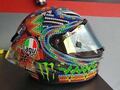 Valentino Rossi, nuovo casco Drudi in stile Messico