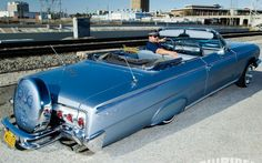 East L A con mi Chevrolet Lowriding On Whittier Boulevard 62 Chevy Impala Convertible