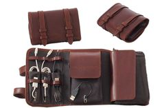 Intrepid Leather Tech Roll – The Intrepid Bag Co | Leather Bags and Accessories