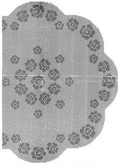 Mary Heklani Radovi I Sheme 365 Embroidery Patterns, Crochet Patterns, Filet Crochet, Doilies, Cross Stitch, Bedspreads, Craft, Round Shag Rug, Made By Hands