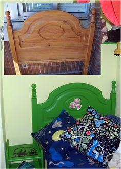 Garabatos y Garatusas: Upcycling: Transformación de muebles en tres pasos... Recovery, Toddler Bed, Blog, Furniture, Design, Home Decor, Dibujo, Pintura, Doodles