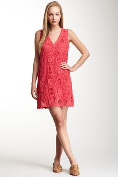T-Lark Rise Lace Dress by French Connection on @HauteLook