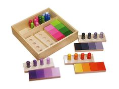 Montessori Color Resemblance Sorting Task: Baby