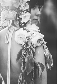 the new floral crown / Emily Blake Photography & Primary Petals