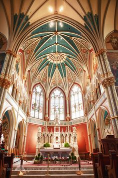 Savannah, GA: Cathedral of St. John the Baptist - Photography by DiAnna Paulk