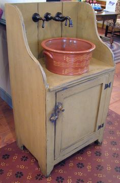 Oley Valley Reproductions - Redware sink - want this!