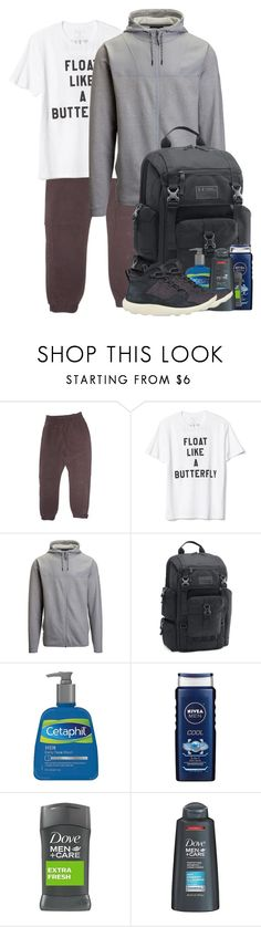 """Untitled #1943"" by purplicious ❤ liked on Polyvore featuring adidas Originals, Gap, Under Armour, Cetaphil, Timberland, men's fashion and menswear"