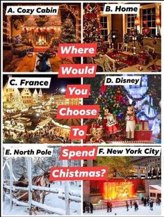 Christmas Scenery, Christmas Tree, Cozy Cabin, New York City, France, Holiday Decor, Fun, Travel, Home Decor