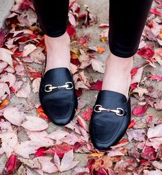 Black mule slides | Target Merona Mule Slides | affordable loafer slides