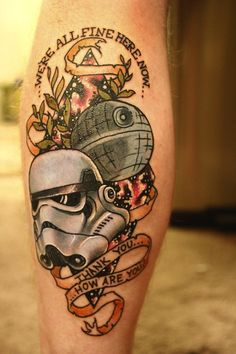 Best Star Wars Tattoo EVER!