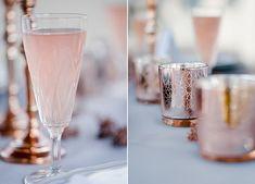 Hochzeitsinspiration in Rosé.