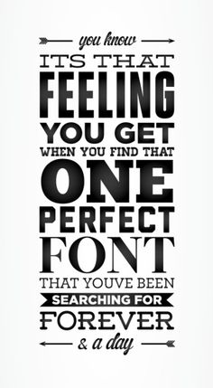 so true....I love that over time that font changes