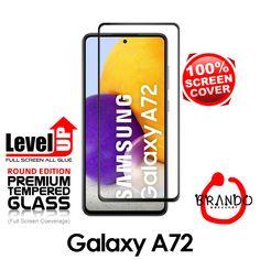 Brando Workshop Full Screen Coverage Glass Protector (Samsung Galaxy A72) - Black Phone Screen Protector, Glass Protector, Usb Gadgets, Galaxies, Workshop, Samsung Galaxy, Phone Cases, Black, Atelier
