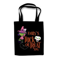 Witch Halloween Trick or Treat Bag by Heart & Willow Prints - Personalized Halloween Bag, Trick or Treat Bag, Halloween Tote Bag, Halloween Bags, Halloween Treat Bags, Halloween Tote, Halloween Candy Bags, Halloween Basket, Halloween Bucket, Trick-or-Treat Bag, kids halloween bag, halloween gifts, halloween gift bags, halloween bag for girls, halloween bag for boys, witch bag, witch halloween bag, halloween decor #fallcraftsforkids