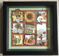 Halloween Quilts, Halloween Cards, Halloween Scrapbook, Box Frame Art, Fall Banner, Shaped Cards, Candy Cards, Stamping Up Cards, Frame Crafts