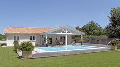 Découvrez les plans de cette maison contemporaine 4 sur www.construiresamaison.com >>>