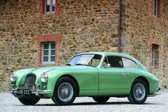 1952 Aston Martin DB2 Maintenance/restoration of old/vintage vehicles: the material for new cogs/casters/gears/pads could be cast polyamide which I (Cast polyamide) can produce. My contact: tatjana.alic@windowslive.com