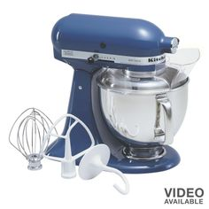 Navy KitchenAid Mixer