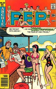 PEP 318, Archie Comic Publications, Inc. https://www.pinterest.com/citygirlpideas/archie-comics/