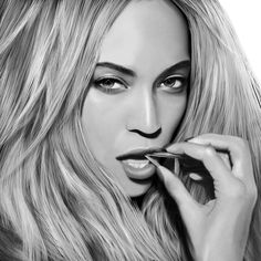 Digital Drawing Beyonce by JoeDieBestie.deviantart.com on @DeviantArt