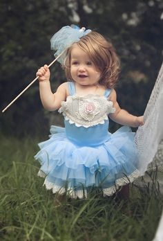 In love with the girl as well! Babycake by Dollcake Clothing - China Doll Tutu Dress Spring 2014