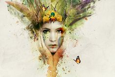How to Create an Amazing Watercolor Artwork in Photoshop | Photoshop Tutorials