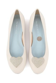 c51ceafb0a1e Flat Soft Leather  Ballet Style  Wedding Shoes