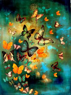 Lily Greenwood - with butterflies